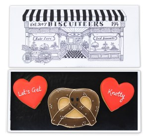 Valentine's iced biscuits {exclusive}