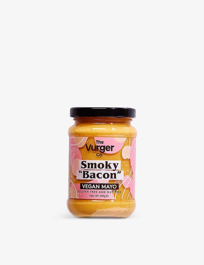 Vegan smoked bacon-flavour mayo